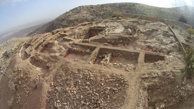 Северная крепостная стена цитадели Узундара
